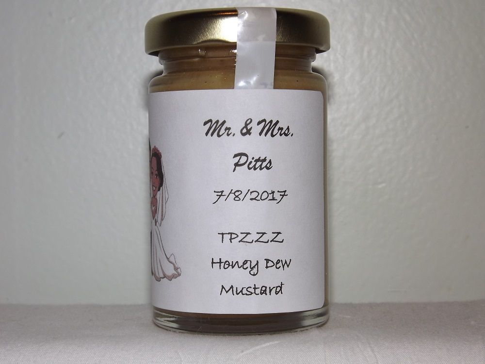 Yo Pitts! Foods weddings Honey Brew Mustard
