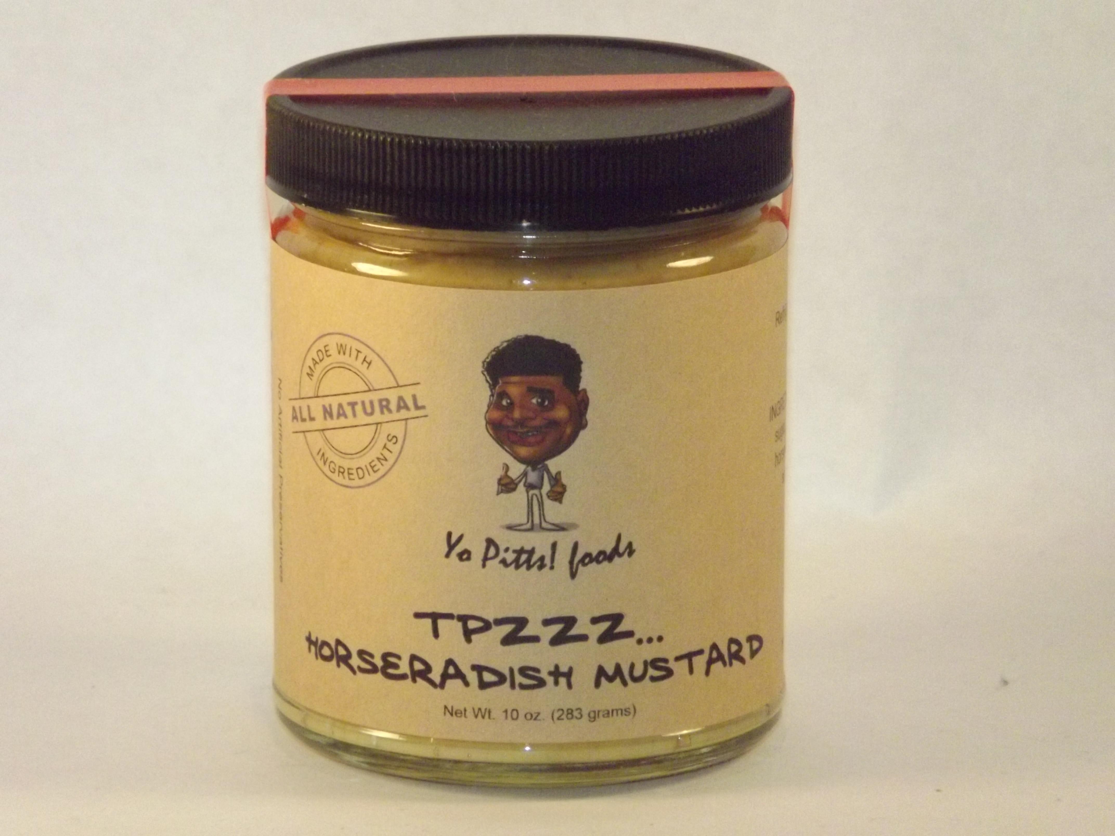 Yo Pitts! Foods Horseradish Mustard