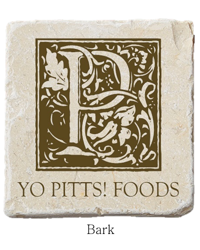 Yo Pitts! Foods Coaster Bark