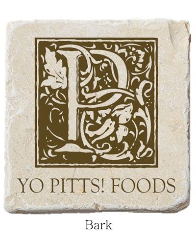 Yo Pitts! Foods Coaster Bark
