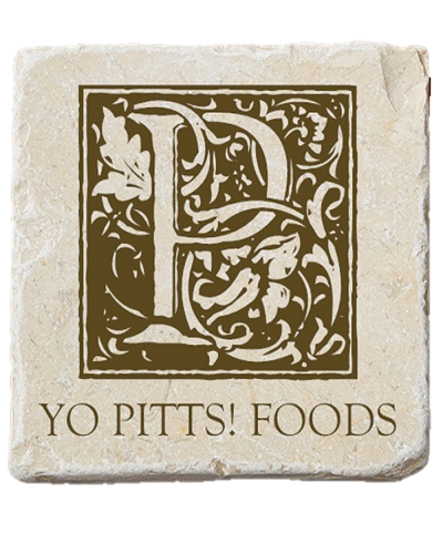 Yo Pitts! Foods Coaster Bark 1