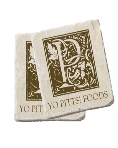Yo Pitts! Foods Coaster two
